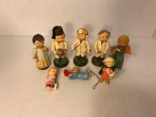 Anri's Woodcarvings Figurine Lot w/3 bonus Figurines