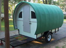 Gypsy Wagon Camper Vardo Travel Trailer Tiny House Pop Up Shop 800 LBS