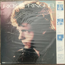 Rick Springfield – Hard To Hold - Soundtrack Japanese LP with obi & insert