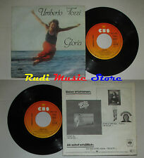 LP 45 '' UMBERTO TOZZI Gloria Aria di lei 1979 germany CBS 7415 cd mc dvd