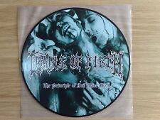 "CRADLE OF FILTH - THE PRINCIPLE OF EVIL MADE FLESH - RARO LP 33 GIRI 12"" PICTURE"