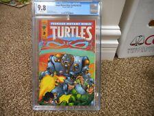 Teenage Mutant Ninja Turtles V2 3 cgc 9.8 Mirage 1995 vol 2 MINT WHITE pgs TMNT