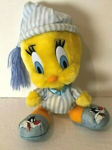 Looney Tunes Tweety Bird Bedtime Plush Stuffed Animal Warner Brothers