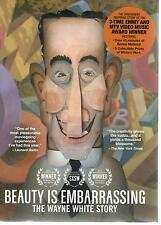 Beauty Is Embarrassing, The Wayne White Story (Rare DVD, 2013), New Still Sealed