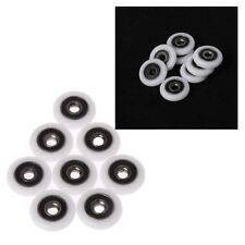 8 Pcs Shower Door Runner Rollers Wheels Pulleys Replacement Parts 23mm Diameter
