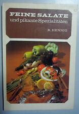 DDR = Feine Salate und pikante Spezialitäten/300 Rezepturen+Rezepte