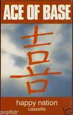 ACE OF BASE - HAPPY NATION 1993 UK CASSINGLE CARD SLEEVE SLIP-CASE