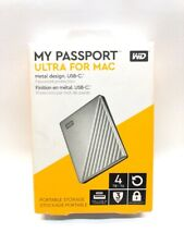 New listing Western Digital My Passport 4Tb Ultra For Mac (Cmp040404)