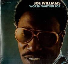JAZZ LP JOE WILLIAMS WORTH WAITING FOR NEW SEALED