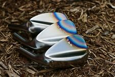 52/56/60* SM FORGED RAW 3-Wedge Golf Wedge Set by Corey Paul TORCH TOE