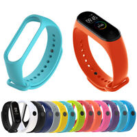 Silicone Bracelet Wrist Strap Replacement Wristband Band for Xiaomi Mi Band 4/3