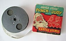 Vintage Castle Films Santa Claus Punch and Judy 16mm Christmas Movie No. 810