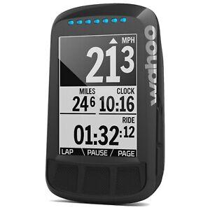 New Black Wahoo ELEMNT BOLT GPS Bike Computer - Stealth Edition