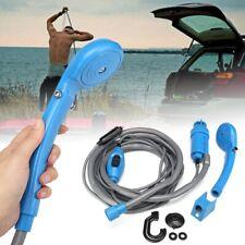 Electric Shower Head Portable Camping Water Pump Boat Outdoor Car Caravan Hiking