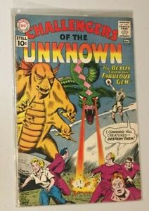 DC Challengers of the Unknown #19 (May 1961) VG- / 3.5