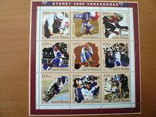 Guinea - Bissau Olympia 2000 Sydney  Mi 1279 - 1287  Klb postfrisch