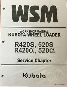 Kubota Workshop Manual SERVICE Chapter R420s, 520s, R420a, 520a 97899-60800