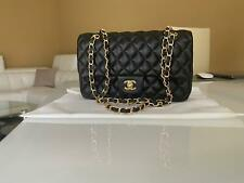 chanel double flaps oro gold 2.55 borsa donna Bag flap timeless time less