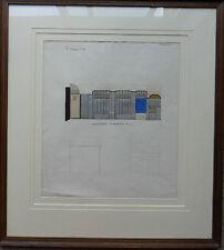 ARNOLD AUERBACH 1898-1978 FINE ORIGINAL SIGNED PAINTING 'ART DECO DESIGN'