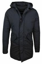 Cappotti e giacche da uomo con cappuccio nera Diamond
