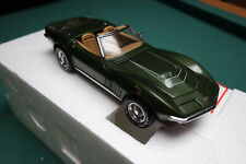 Franklin Mint 1970 LT-1 Corvette Dooeybrooke Green, Extremely rare only 500 made