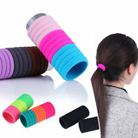 10pcsElastic Rope Ring Hairband Women Hair Band Ponytail Holder High Quality-