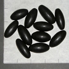 SHIVA LINGAM, Black medium 10-11 pk bulk stones Narmada River India Hindu