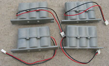 4 LOT 3 D Size Battery Holder Box 4.5V Case with Wire Lead 3 x D Batteries 3pin