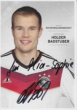 Holger Badstuber  DFB  WM 2014  Autogrammkarte original signiert 372570