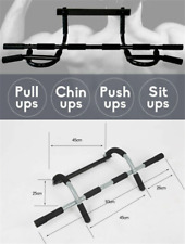 Heavy Duty Doorway Pull Up Bar Sit Chin-up Fitness Exercise Gym Strength Workout