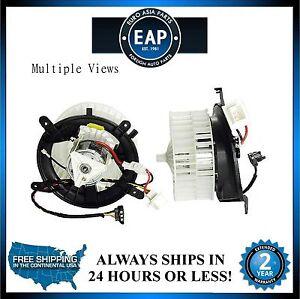 For Mercedes-Benz E300 E320 E420 E430 E55 AMG I6 V6 V8 HVAC Blower Motor New