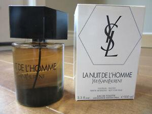 Vintage 2012 La Nuit De L'homme Yves Saint Laurent 100ml 3.3 Tester 8YB02-2 BNIB