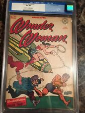 Wonder Woman #22 CGC 8.5 CR/OW *The Color Thief* ~ *UNPRESSED OLD LABEL BEAUTY!*
