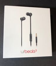 Beats by Dr Dre urBeats 3 Black Earphone [ 3.5mm Jack ] NEW
