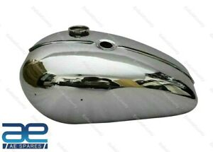 For Triumph T120 OIF 1971 And Onwards Fuel Petrol Gas Tank Chrome Steel ECs
