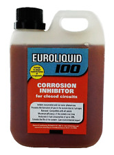 EURO LIQUID 100 CENTRAL HEATING SYSTEM CORROSION INHIBITOR 1 L SCALE BOILER  NEW