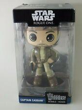 Figurine Star Wars Rogue One Captain Cassian Wobblers Funko