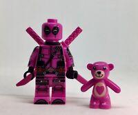 DEADPOOL DC COMICS   MARVEL ENDGAME  minifigure lego movie   films PINK