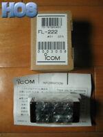 NEW ICOM FL-222 SSB Filter for IC-703 IC-718 IC-746 IC-756 IC-775DSP IC-R75