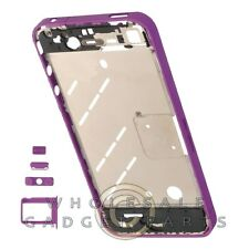 Housing Mid Plate for Apple iPhone 4 GSM Lilac Purple Body Frame Chassis Cover