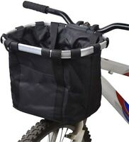 Fahrradkorb Faltbar Fahrrad Vorne Korb Abnehmbare Lenkerkorb Tasche Oxford