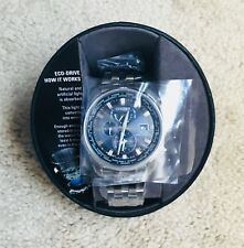 New Men's Stainless Steel Citizen Eco-Drive Watch AT-9030-80L-H820-E01