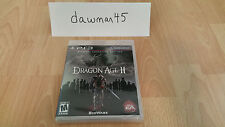 Dragon Age II: BioWare Signature Edition (Sony Playstation 3, 2011) PS3 SEALED