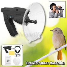 Parabolic Microphone Monocular X8 Ear Sound Long Range Birds Listening