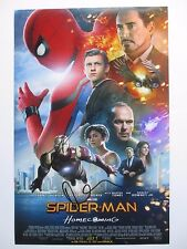 TOM HOLLAND & MARISA TOMEI SIGNED 11x17 PHOTO SPIDER-MAN HOMECOMING CAST DC/COA