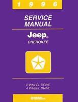1996 Jeep Cherokee Shop Service Repair Manual Book Engine Drivetrain Electrical
