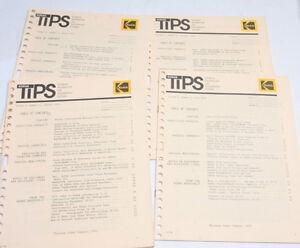 Kodak TIPS Tech Info Photo Systems Vol 5 No 1 2 3 4 1974 - English - USED B113B
