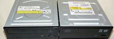 Lot of 2 IDE PATA DVD/CD-RW Multi Burner & Rewriter Desktop Optical Drives DVDRW