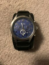 Fossil Mens Watch - Blue Face - Rare