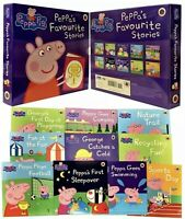 Peppa Pig Favourite Stories 10 Books Slipcase Collection Set - GIFT